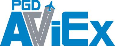 PGD AviEX footer logo