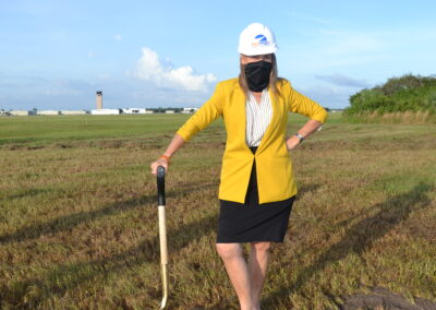 Airport Authority Commissioner Pam Seay