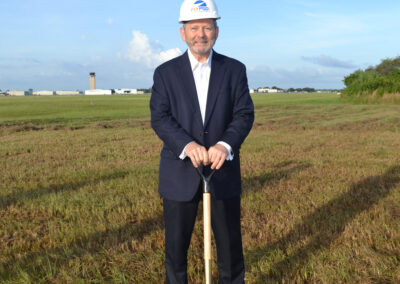 Airport Authority Commissioner James Herston