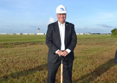 Airport Authority Commissioner Paul Andrews