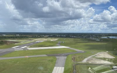 Runway 15-33 Extension Nears Completion
