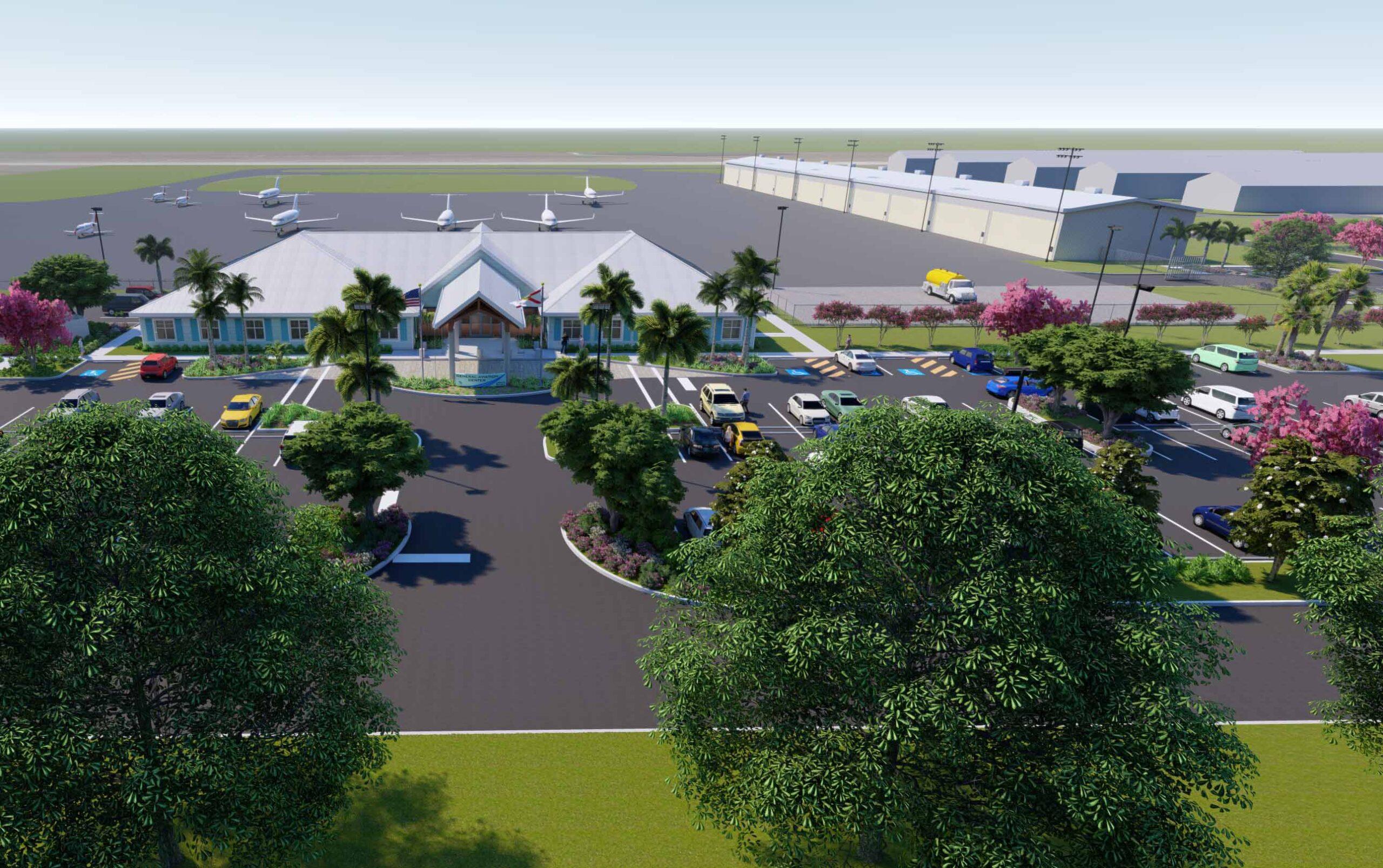 GA Center rendering