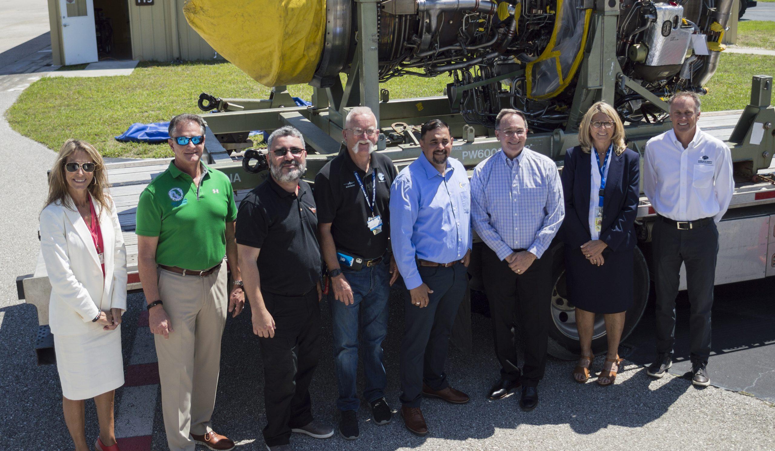 CTC Engine Donation Group shot
